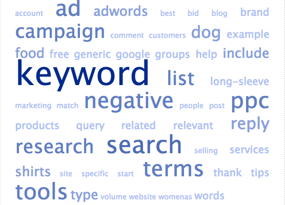 adwords keyword research