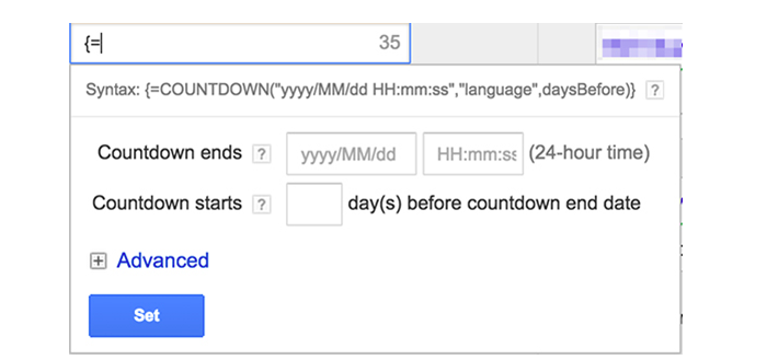 Improve adwords CTR with countdown timers