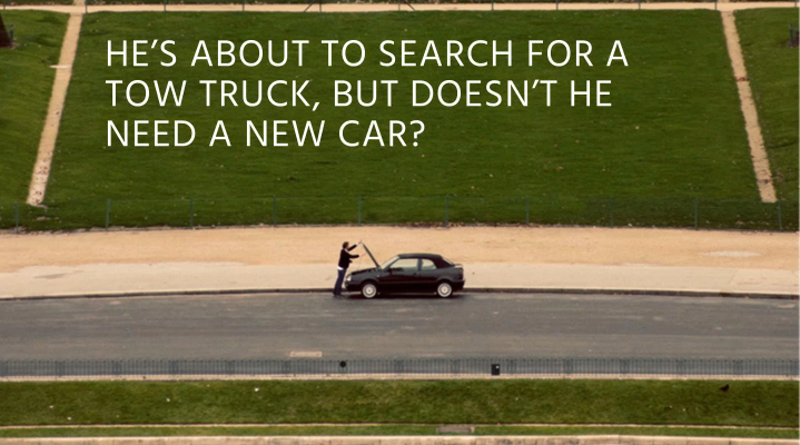 customer match tow truck example
