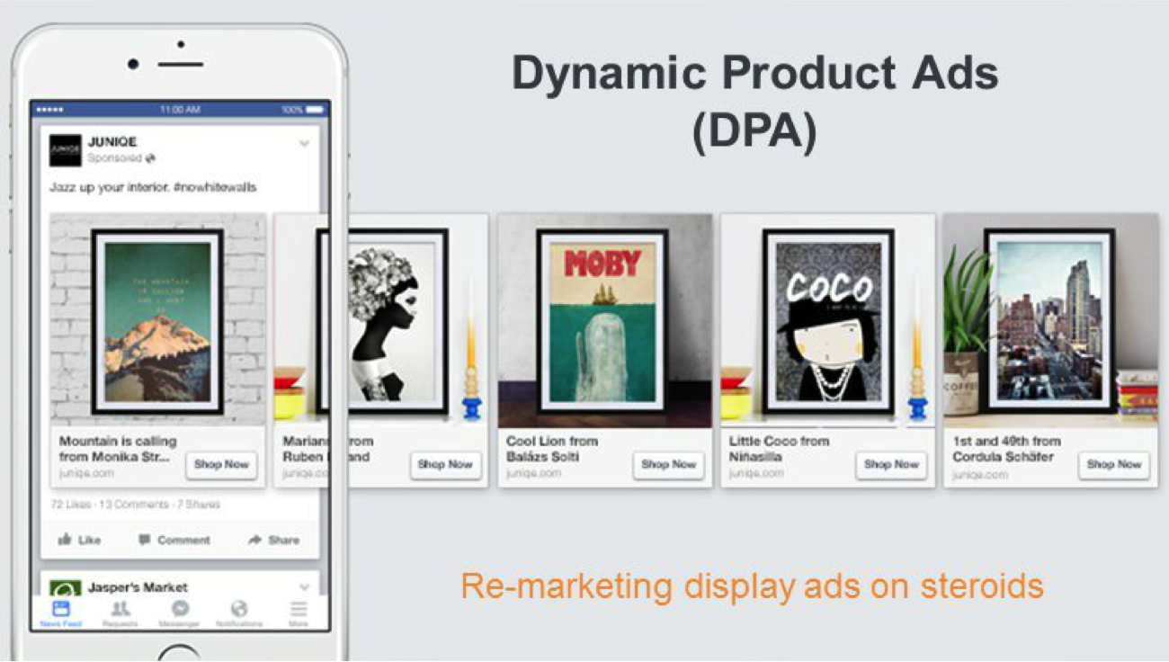 dynamic product ads facebook
