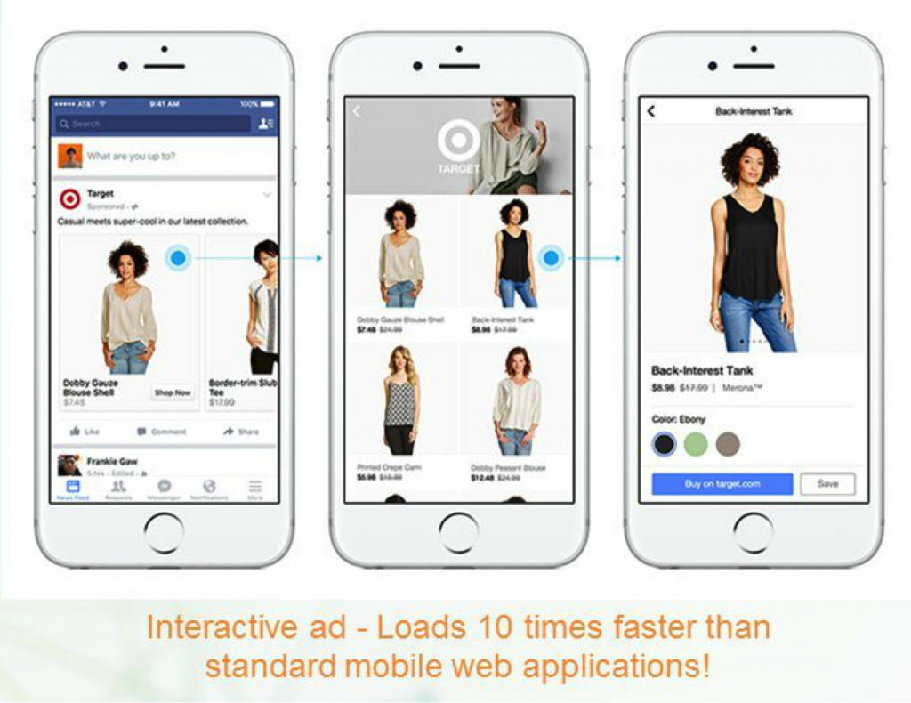 interactive ads facebook