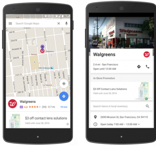 promoted pin google maps