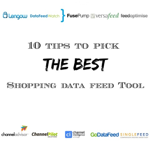 How to pick the best shopping dat feed tool