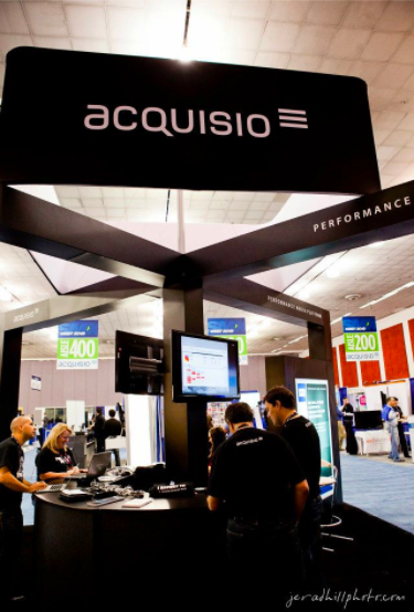 Acquisio Mega Booth at SMX