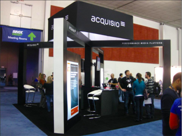 Acquisio Mega Booth at SMX 2