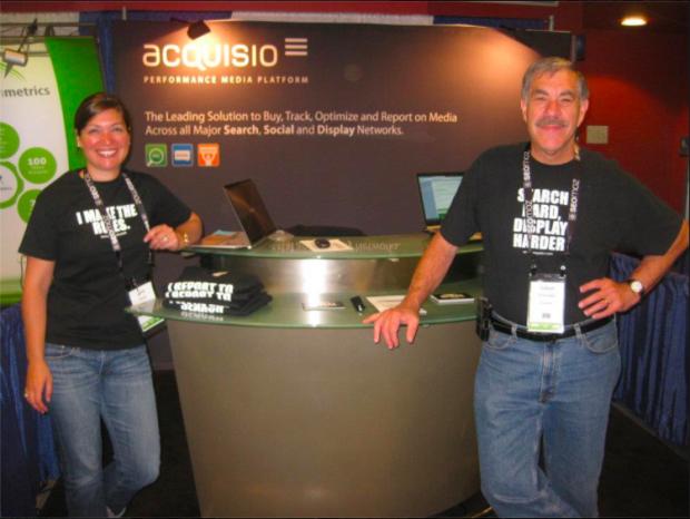Acquisio Bob at SMX Exhibit Booth 2