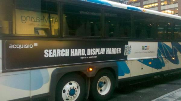 Acquisio at SMX Bus Ad