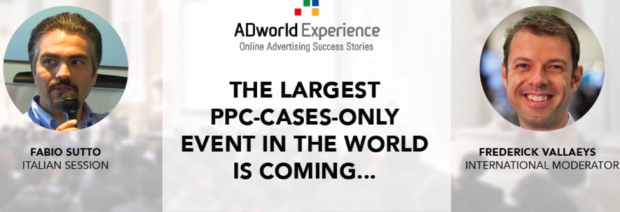 Ad World Experience PPC Conference Website Screenshot