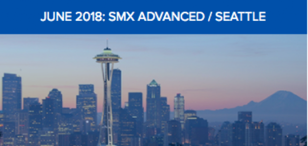 SMX Advanced Seattle Conference Website Screenshot