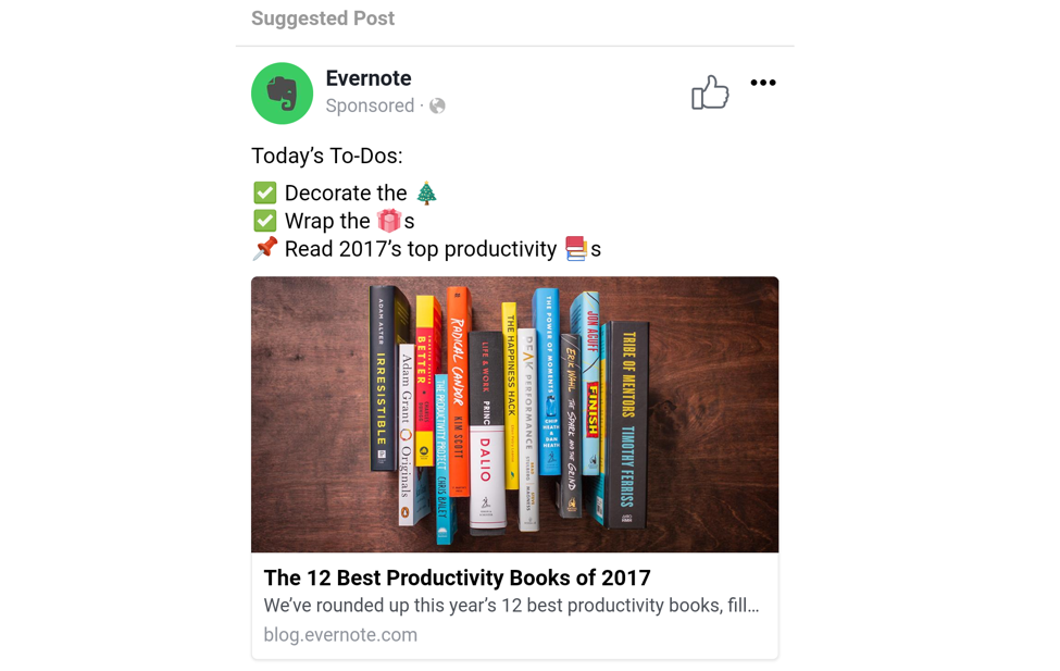 evernote ad example