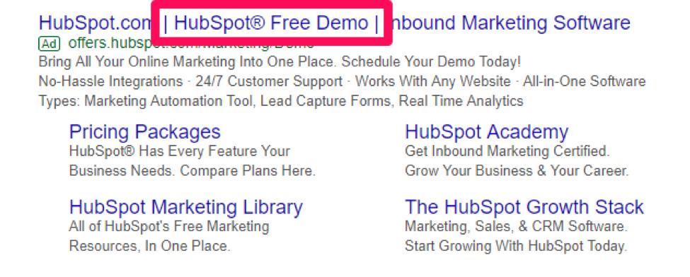 hubspot ad screenshot