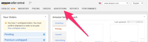 Setting up an Amazon ad campaign in Seller Central