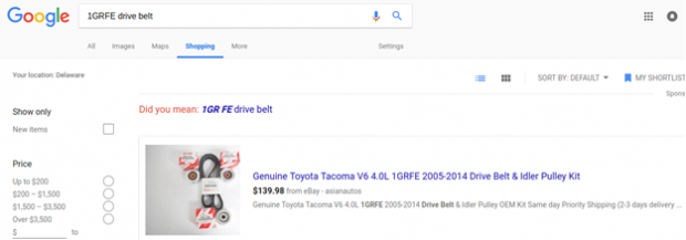 Google Shopping Title Optimization