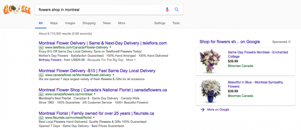 image of ppc ads in google