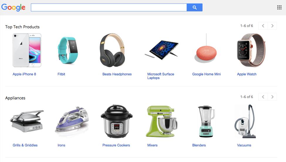 shopping screenshot