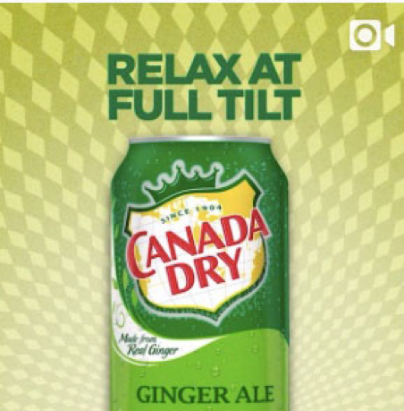 canada dry relax at full tilt screenshot