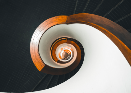 spiral unsplash image