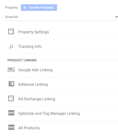 google ads linking screenshot