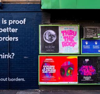 unsplash ads on street image