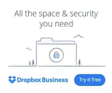 dropbox display ad
