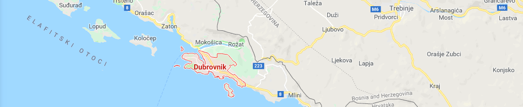 google maps croatia screenshot