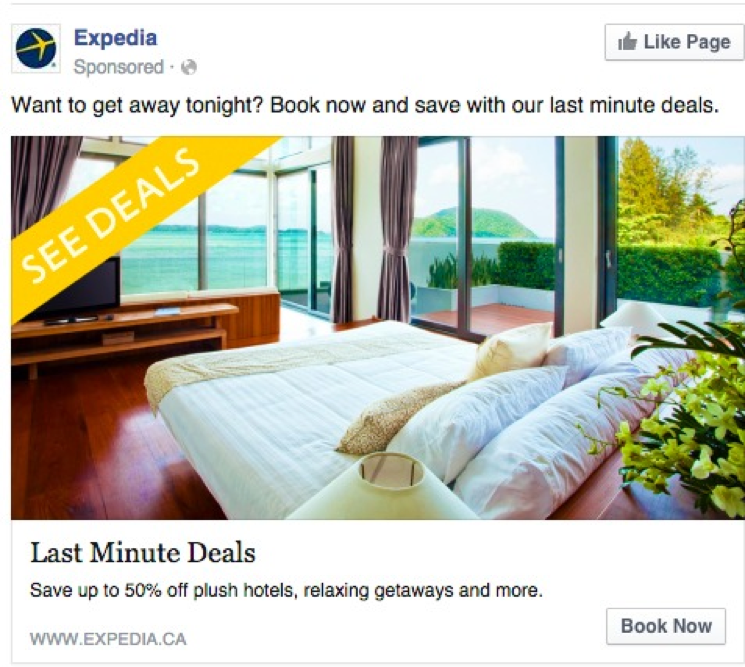 expedia display ad