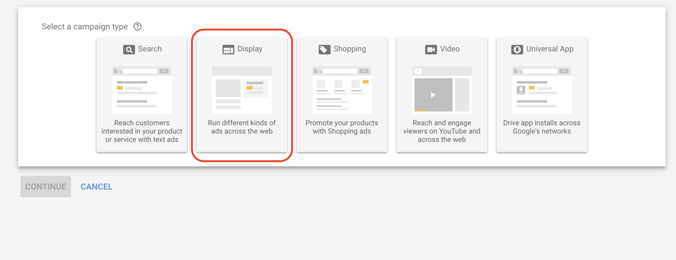 google ads setting up display retargeting screenshot 3