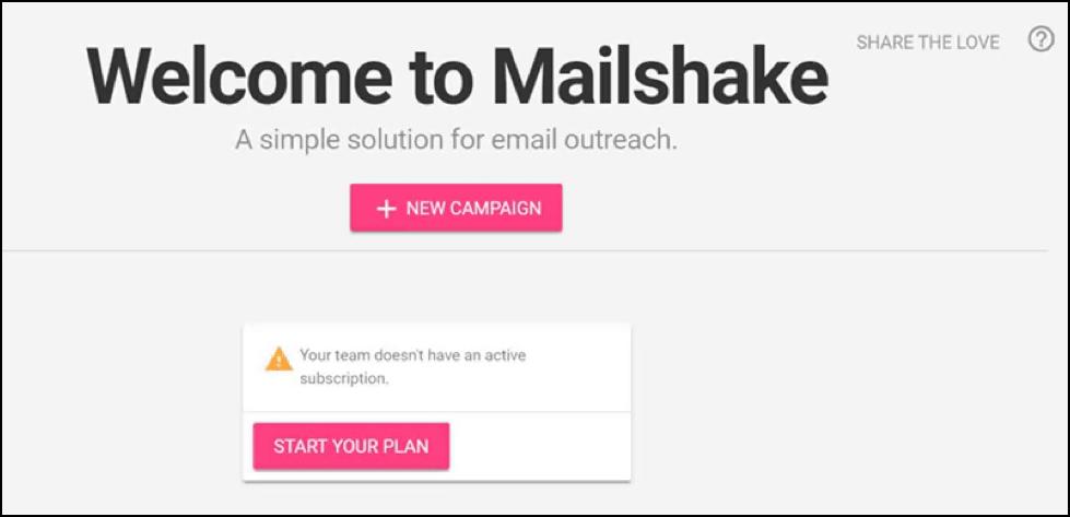 mailshake screenshot