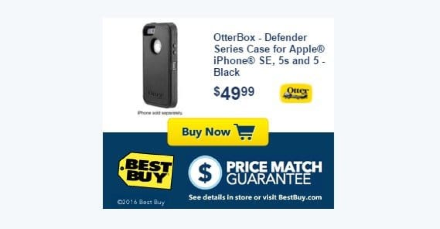 best buy remarketing ad
