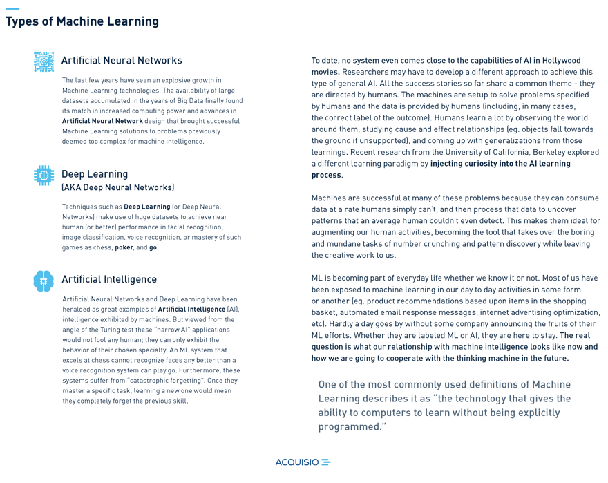 ai and machine learning text