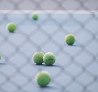 tennis ball unsplash