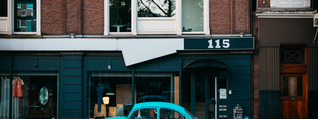 local shop with VW in front unsplash