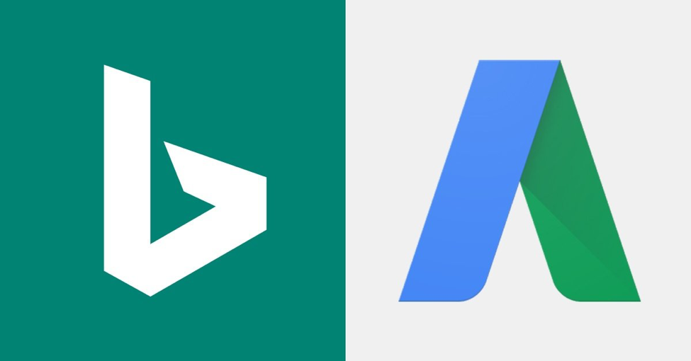 Bing and Adwords logos