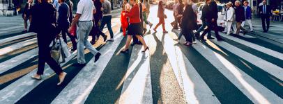 people on crosswalk unsplash