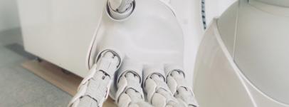 unsplash robot hand