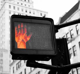 stop hand unsplash