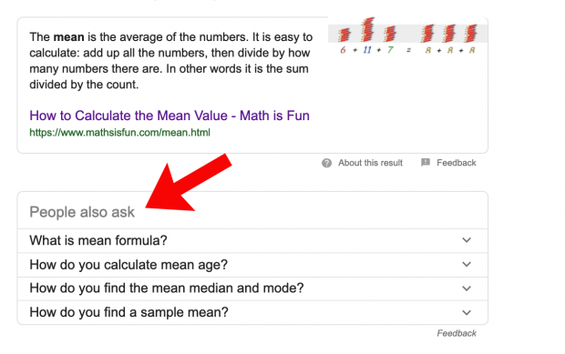 "Find ideas for rich snippet content in Google's ""People Also Ask"" boxes"