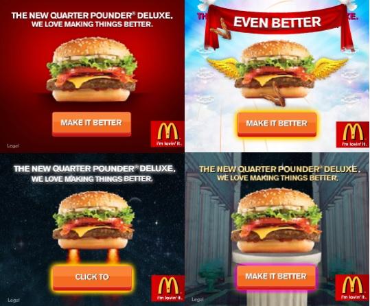 Banners creativos McDonalds