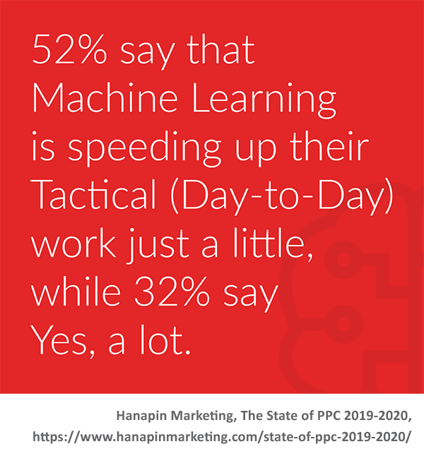 machine learning speeds up work