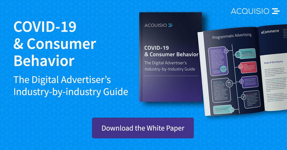 Get the COVID-19 & Consumer Behavior White Paper