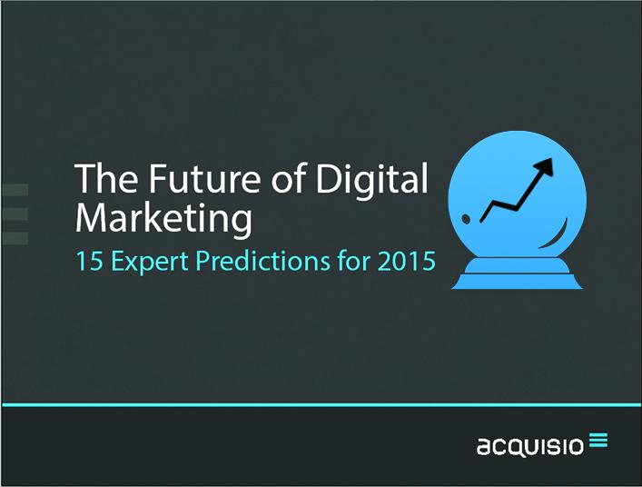 2015 digital marketing predictions ebook