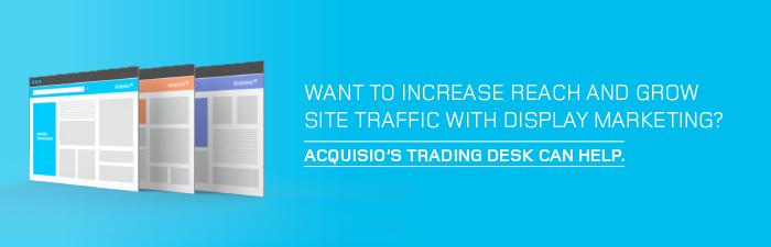 acquisio trading desk