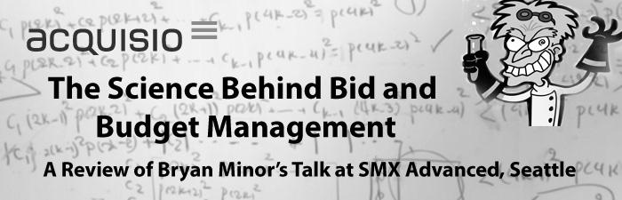 science of bid management