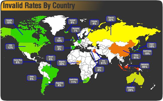 click fraud map