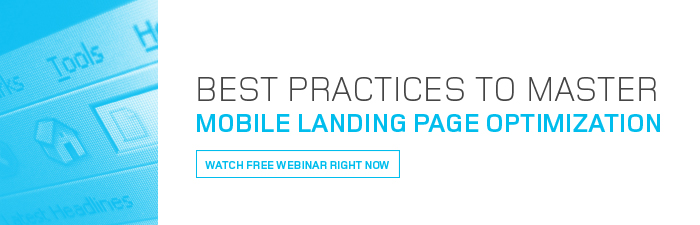 mobile landing page optimization