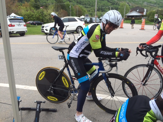 acquisio cycling team member robert duguay