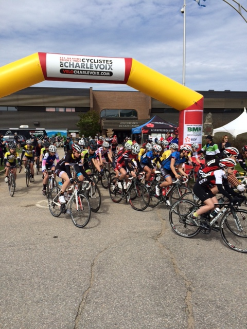 acquisio cycling team event