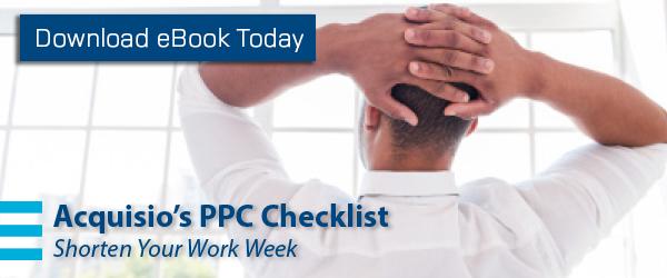 ppc checklist ebook