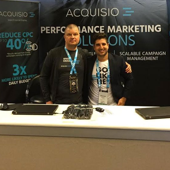 Acquisio sales team ready to help you optimize you digital search campaigns.