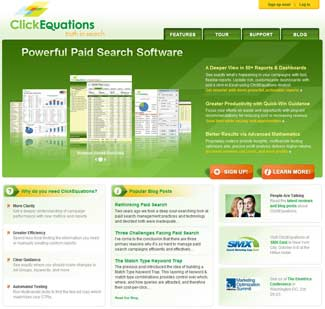 The ClickEquations.com Website